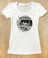 Skate Oasis Girls T-Shirt - White