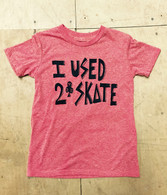 I Used To Skate Youth T-Shirt