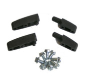 C00012 - Castle Door Hinge Set w/ Screws (2 Male & 2 Female)