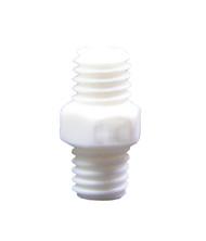P31032 - 10-32 x 10-32 White Nylon Coup