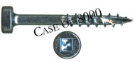 "B02114-CASE - #7 1-1/4"" Coarse Pocket Screw - 8000 Count"