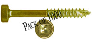 "B03112-1000 - #6 1-1/2"" Fine Pocket Screw - 1000 count"