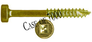 "B03112-CASE - #6 1-1/2"" Fine Pocket Screw - 7000 count"