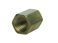 P20202 - Brass Miniature Fitting 10-32 Female Hex Coupling
