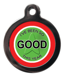 Christmas Pet Tag