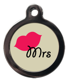 Mrs Dog ID Tag