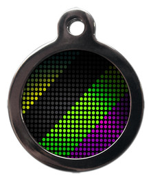Disco Patterned Tag for Pets