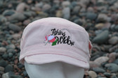 Fishing Widow Hat-Military Style Pink