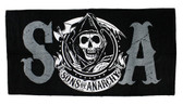 Sons of Anarchy SOA Beach Towel