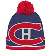 Montreal Canadians CCM Black Oversized Cuffed Knit Hat