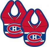 NHL Montreal Canadiens 2-Pack Baby Bibs