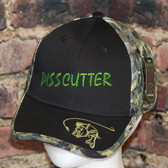 The ultimate Pisscutter Fishing Hat with Fishoflauge pattern
