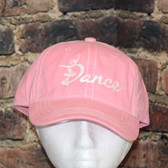 Pink with white details Dance cap