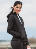 ATC™ PTECH™ FLEECE HOODED LADIES' JACKET