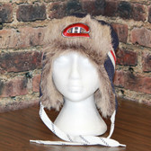 Montreal Canadians Reebok Blue Center Ice FUR TROOPER Knit Hat