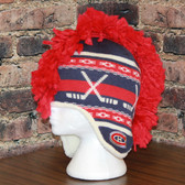 Montreal Canadians Mohawk Reebok Center Ice Mohawk Knit Hat