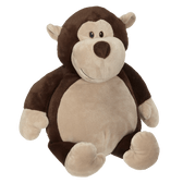 Monty Monkey Buddy Personalized  Embroidered – 16″ Stuffed Animal