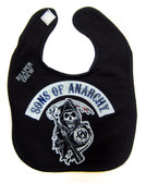 Sons of anarchy baby toddler primary logo bib