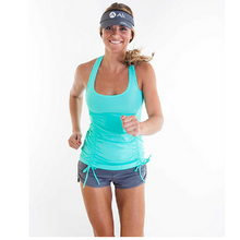 Carina Ruched Tank by Alii Sport