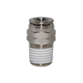 PneumaticPlus PN11 Series Metal Push to Connect Fitting - Taper Straight Male