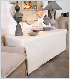 Tablevogue's fitted table cover for furnishing your home