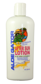 Aloe Gator After Sun Lotion 8 Oz.