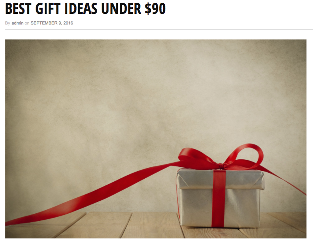 "Gift for Dog or Dog Owner?  WACKYwalk'r Listed as a ""Best Gift Under $90."""