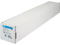 "Excellent for HP, Oce and Canon Inkjet HP 42"" x 100' Instant-dry Satin Photo Paper 7.4 mil 1 Roll Q6581A"