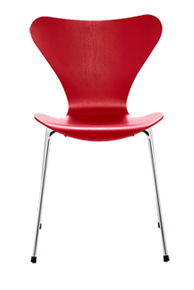 Replica Arne Jacobsen Series 7 Chair - Red