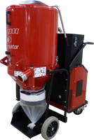 When used in tandem with the C5500, the 480Volt Ermator T10000 represents the most powerful HEPA Dust Extractor / Pre-separator used worldwide in the concrete grinding and polishing market. Much improved over its predecessors, models T55, T75 and T8600, the T10000 is packed with plenty of power and filter area. It exceeds the requirements of the most demanding three-head grinders.