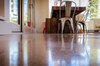 Polished Concrete Floor after using Prosoco first cut to help aid in the concrete polishing system.