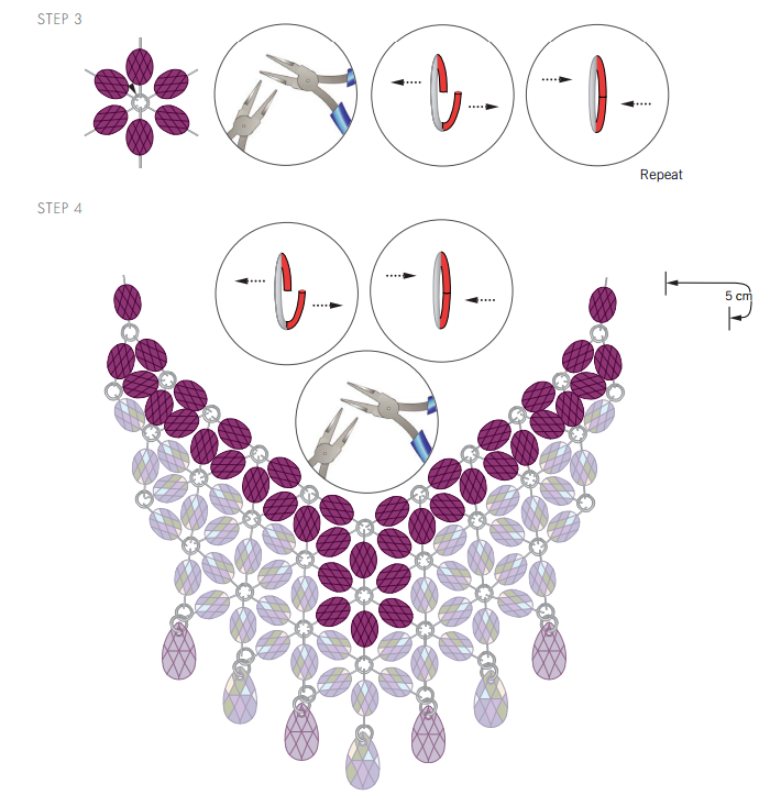 swarovski-crystal-free-design-and-instructions-necklace-bouquet-of-crystals-step-3-and-4.png