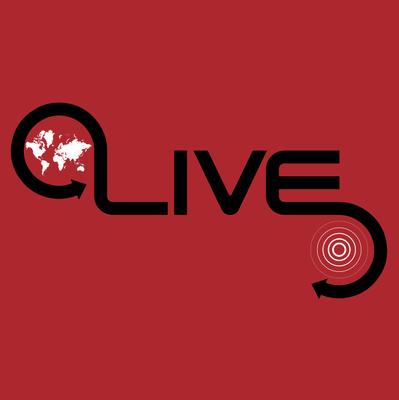 image free vector global live logo icon