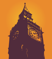 image free vector logo graphic big ben clock tower