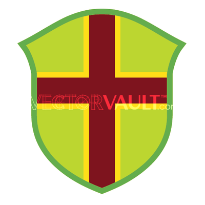 vector shield templar cross image