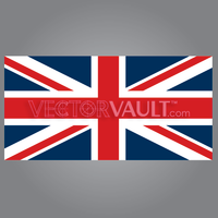 vector union jack uk british flag