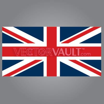 Buy vector union jack england british flag icon logo graphic