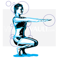 image buy vector yoga posture pose illustration