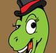 image-buy-vector-dinosaur-in-a-tuxedo