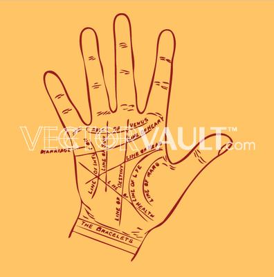 image-buy-vector-palm-reading-fortune-teller