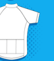 Buy Vector cycling bike jersey template free vectors - Vectorvault