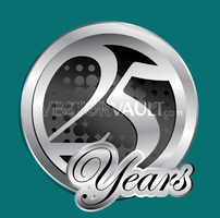 Vector 25 Years Logo