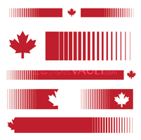 Vector Canadian Pride