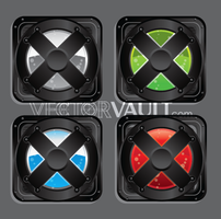 Vector X Buttons