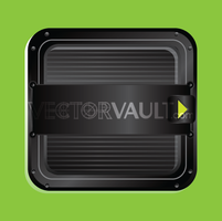 Vector Dark Ridged Tablet