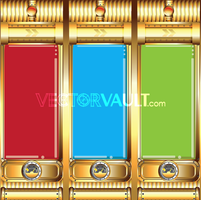 Vector Gold Tubes