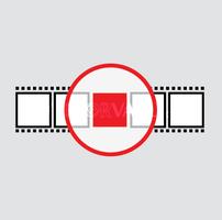Vector Target Film Logo