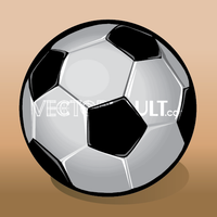 Vector Soccer Ball Icon