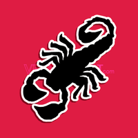 Vector Scorpion Icon