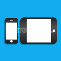 Vector iPhone iPad Icons